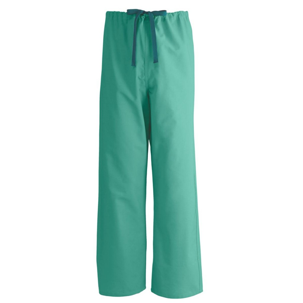 Unisex Reversible Drawstring Scrub Pants